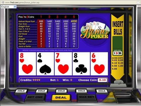 apercu Bonus Poker