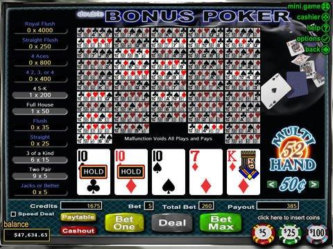 apercu Double Double Bonus Poker
