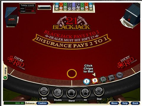apercu European Blackjack