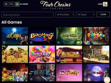 aperçu de jeux 4Crowns Casino