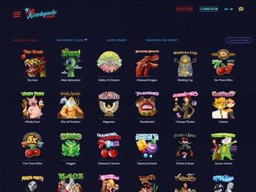 aperçu de jeux Avantgarde Casino