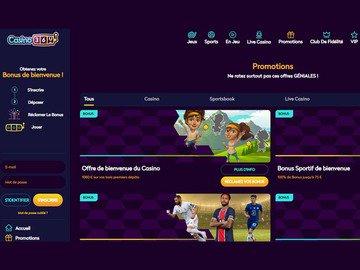 aperçu de jeux Casino360
