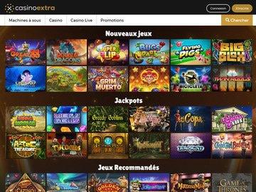 aperçu de jeux CasinoExtra