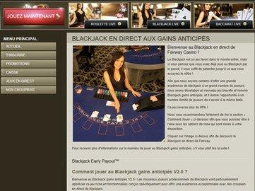 aperçu de jeux Casino Fairway