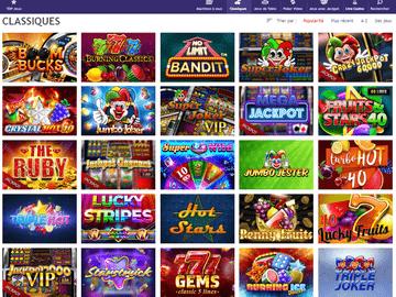 aperçu de jeux Casino LeJackpot