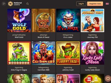 aperçu de jeux Casino National
