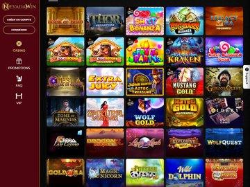 aperçu de jeux Casino NevadaWin