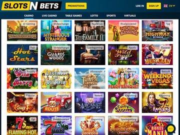 aperçu de jeux Casino SlotsNBets