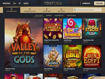 aperçu de jeux Casino Tortuga