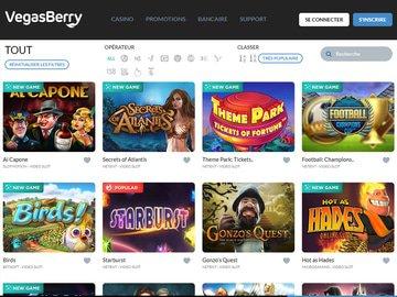 aperçu de jeux Casino VegasBerry
