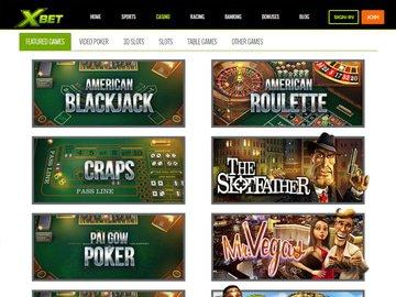 aperçu de jeux Casino Xbet