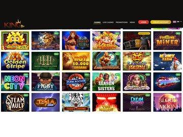 aperçu de jeux Kingbit Casino