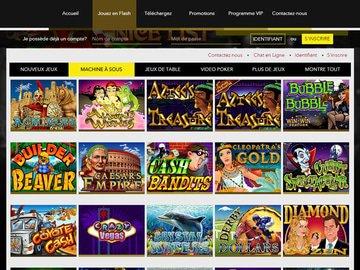 aperçu de jeux Le Bon Casino