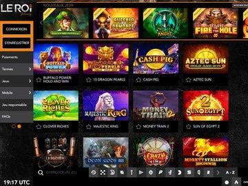 aperçu de jeux Le Roi Johnny Casino