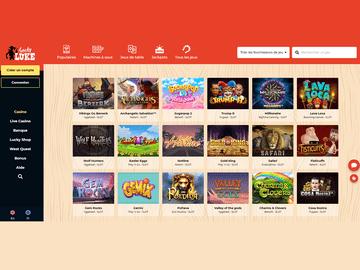 aperçu de jeux LuckyLuke Casino