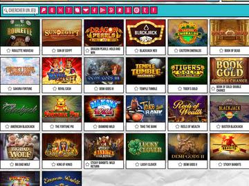 aperçu de jeux PariPop Casino