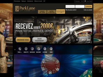 aperçu de jeux ParkLane Casino
