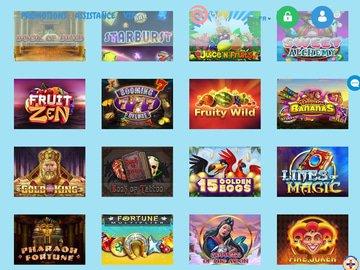 aperçu de jeux Reeltastic Casino