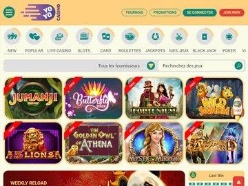 aperçu de jeux Yoyo Casino