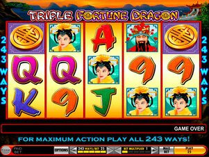 apercu Triple Fortune Dragon