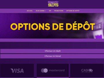 banque Majestic Slots Casino