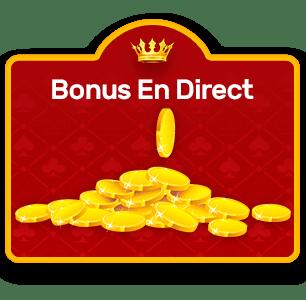 bonus en direct