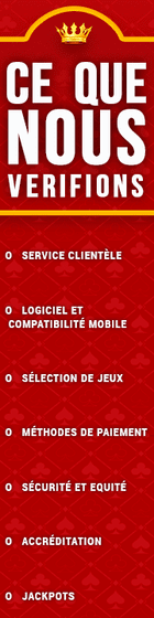 comment nous évaluons les meilleurs casinos en ligne français