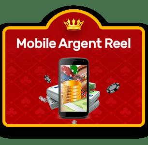 mobile argent réel