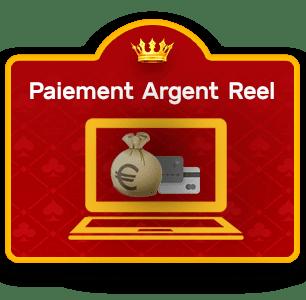 paiements argent réel